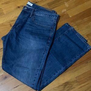 Gap Men's Slim Fit In Medium Wash Blue Jeans 36x32